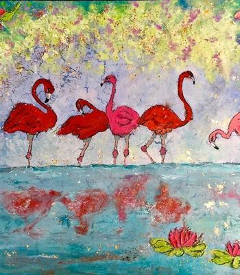 FlamingoCove60x90